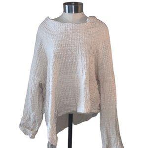 yasuko kurisaka cowl neck sweater